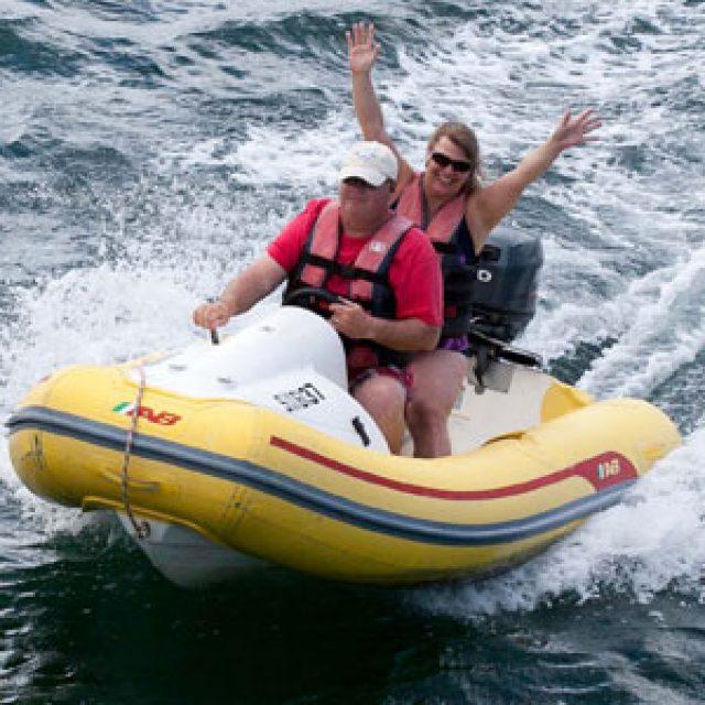 Zodiac Boat Tour
